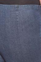 Cheer schlichte Damen Jeans-Leggings Jeggings Langgröße Große Größen Blau – Bild 3