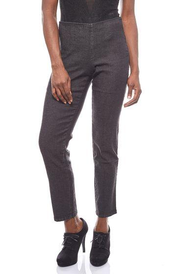Cheer Womens Elastic Jeans Leggings Black