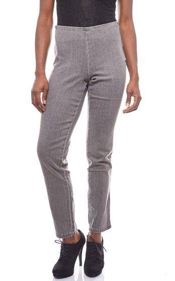 Cheer jeans élastiques leggings gris