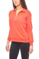 Noisy may cooles Damen Sweatshirt mit Reißverschluss Rot 001