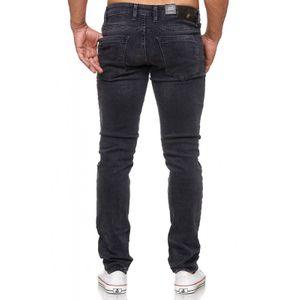 Tazzio Fashion Herren-Jeans Slim Fit Hose Used Look Denim – Bild 13