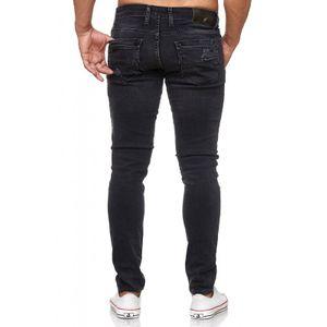 Tazzio Fashion Herren-Jeans Slim Fit Hose Used Look Denim – Bild 16