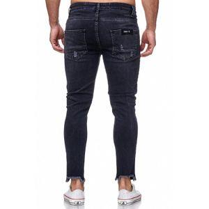 Tazzio Fashion Herren-Jeans Slim Fit Hose Used Look Denim – Bild 7