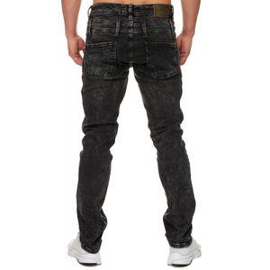 Tazzio Fashion Herren-Jeans Slim Fit Hose Used Look Denim – Bild 25