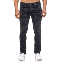 Tazzio Fashion Herren-Jeans Slim Fit Hose Used Look Denim – Bild 12