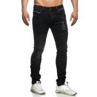 Tazzio Fashion Hose Herren-Jeans Slim Fit Used Look – Bild 17