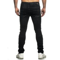 Tazzio Fashion Hose Herren-Jeans Slim Fit Used Look – Bild 19