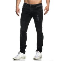Tazzio Fashion Hose Herren-Jeans Slim Fit Used Look – Bild 18