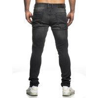 Tazzio Fashion Hose Herren-Jeans Slim Fit Used Look – Bild 10