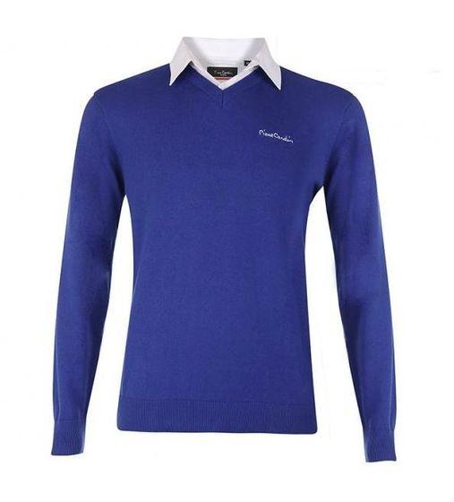 Pierre Cardin Herren Pullover Blau