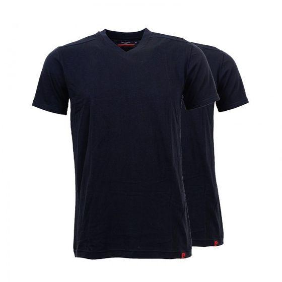 2er Pack Pierre Cardin Herren T-Shirt Schwarz