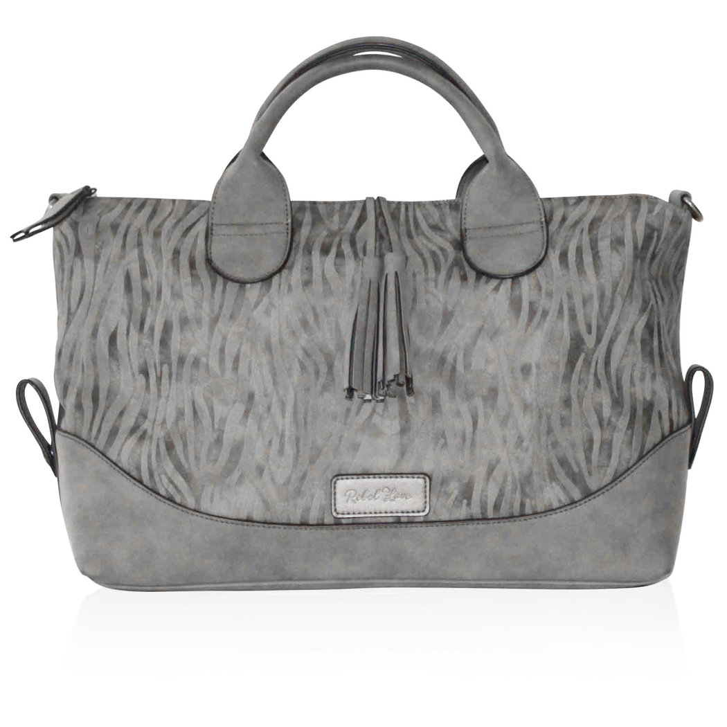 eaaef22a17dc6 Turned Love Women s Crossover Bag Gray