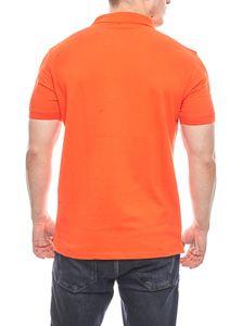 U.S. POLO ASSN. modernes Herren Polohemd Poloshirt Orange – Bild 4