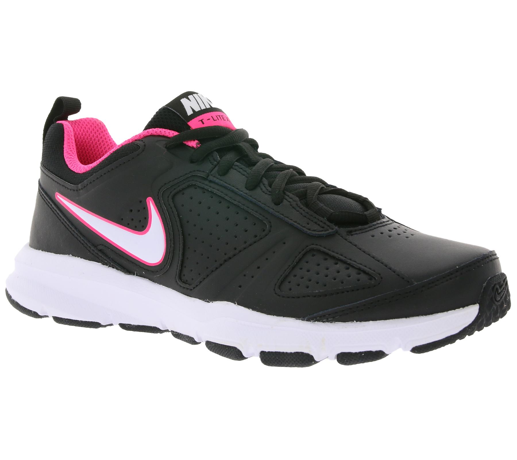 NIKE Schuhe klassische Damen Sportschuhe T Lite XI Schwarz   B2B