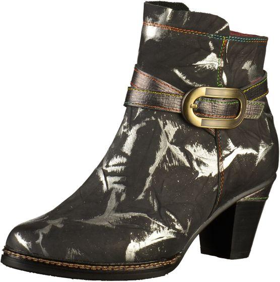 Laura Vita Damen Stiefeletten Schwarz Schuhe
