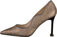 Lodi Pumps extravagante Damen High Heels im Glitzer-Look Raciori-Te Beige