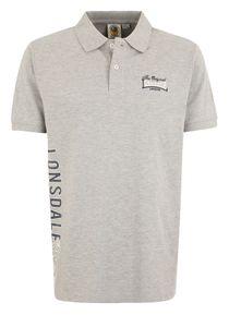 Lonsdale Poloshirt Herren Marl-Grau