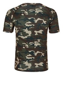 BENLEE Rocky Marciano T-Shirt Herren Camouflage-Woodland – Bild 2