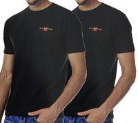 2er Pack HARVEY MILLER POLO CLUB T-Shirt klassische Herren Baumwoll-Shirts T-Shirts – Bild 4