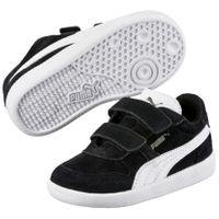 PUMA Icra Trainer SD V Inf Kinder Low Boot Sneaker Schwarz-Weiss