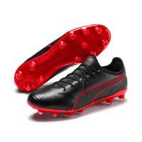 PUMA KING Pro FG Low Boot Fußballschuhe Schwarz-Rot Schuhe
