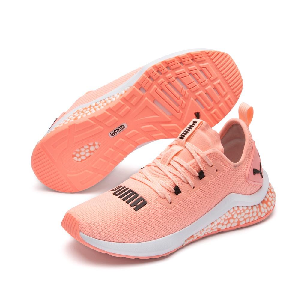 PUMA Hybrid NX Wns Damen Low Boot Sneaker Sportschuhe Orange-Weiss