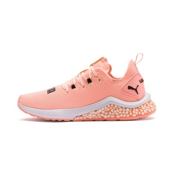 PUMA Hybrid NX Wns Damen Low Boot Sneaker Sportschuhe Orange Weiss Schuhe