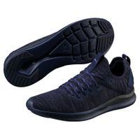 PUMA IGNITE Flash evoKNIT Herren Low Boot Sneaker Sportschuhe Peacoat