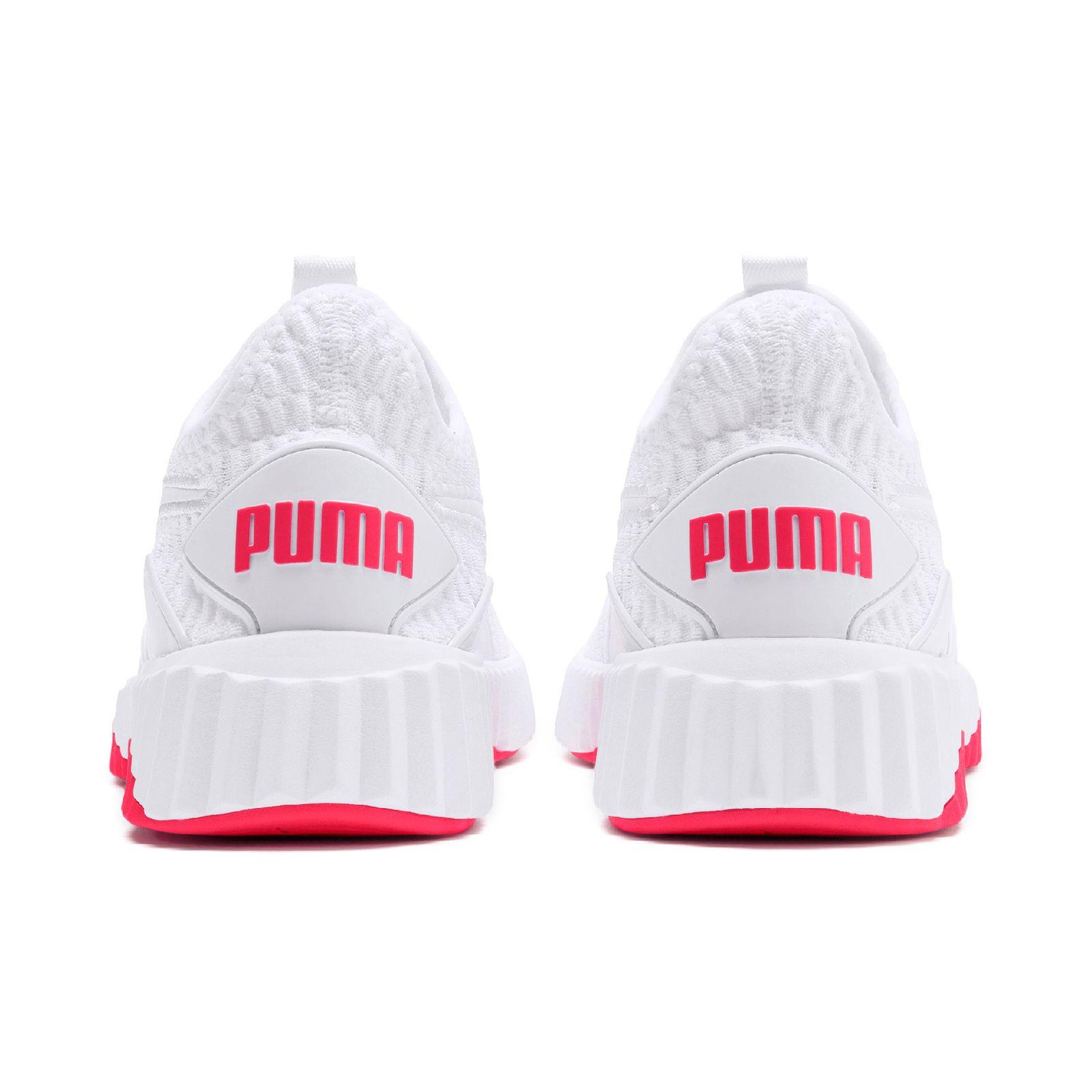 the latest 36e06 da9cb PUMA Defy Wns Damen Low Boot Sneaker Sportschuhe Weiss-Rosa