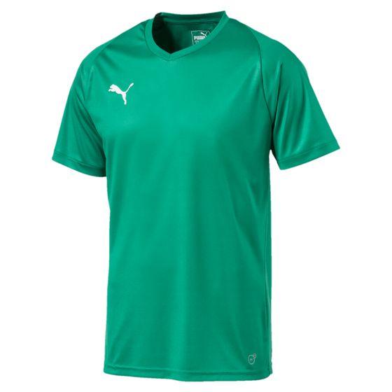 PUMA LIGA Jersey Core Herren Fußball-Shirt Pepper Grün-Weiss