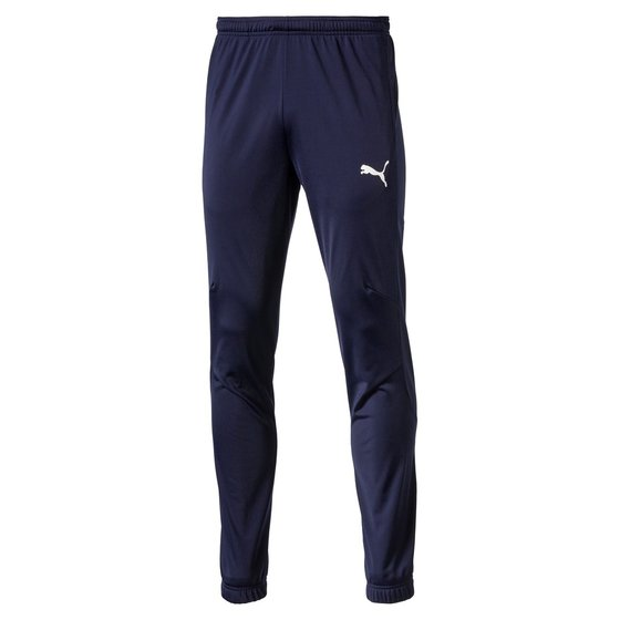 PUMA LIGA Sideline Poly Pant Core Herren Poly Hose Peacoat-Weiss