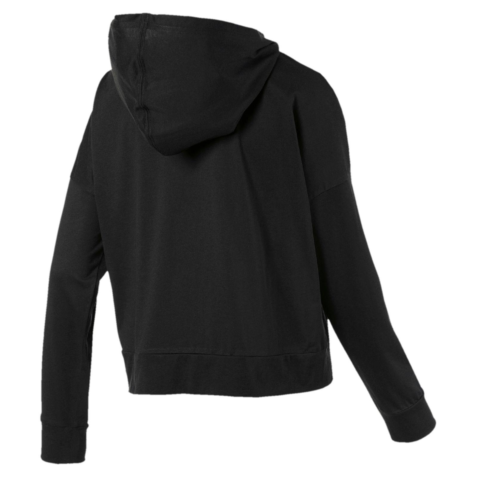 huge discount 1471f e9e8f PUMA MODERN SPORT Cover up Damen T-Shirt Schwarz