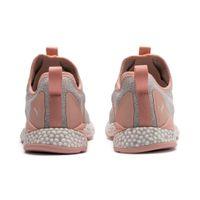 PUMA Hybrid Runner Wns Damen Low Boot Sneaker Sportschuhe Glacier Grau-Peach Bud Schuhe – Bild 2