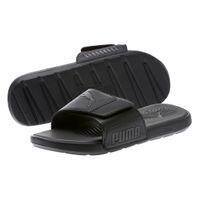PUMA Starcat Tech Sandale Badelatschen Asphalt-Schwarz Schuhe