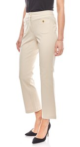 vivance collection Hose stylische Damen Businesshose Kurzgröße Beige