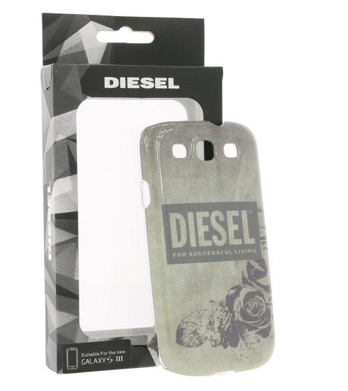 DIESEL Hard Case Sacoche à larrière pour téléphone portable pour Galaxy S3 Gris  Vert