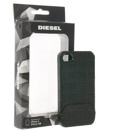 DIESEL Hülle schlichte Handy Schale für iPhone 4/iPhone 4S Schwarz