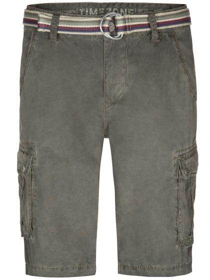 TIMEZONE Herren Cargo-Shorts Olive