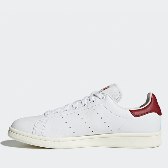 Adidas Stan Smith - Footwear White / Footwear White / Core Burgundy Sneaker
