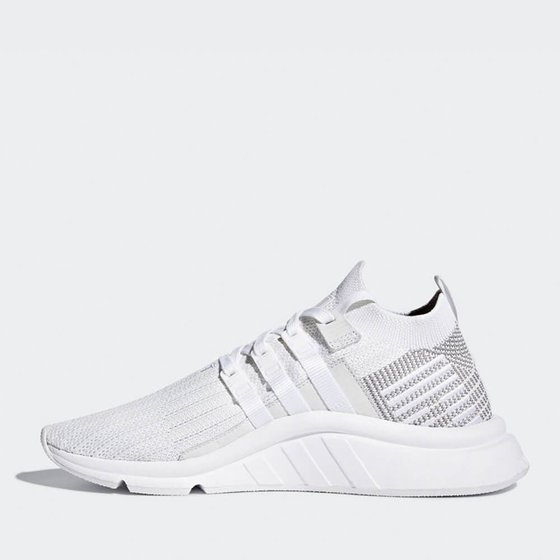 Adidas EQT Support Mid ADV Primeknit -  Ftwr White / Ftwr White / Grey One Sneaker