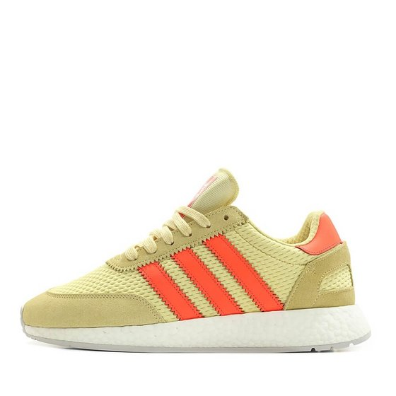Adidas I-5923 Runner Boost - Clear Yellow / Solar Red / Grey One Sneaker