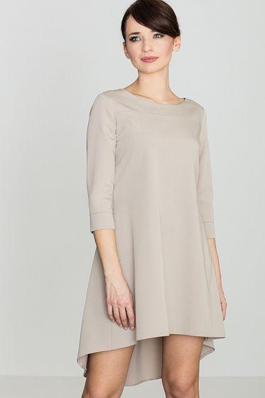 Lenitif Damen Kleid Beige