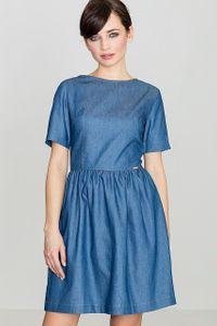 Lenitif Damen Kleid Blau