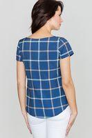 Lenitif Damen Bluse Mehrfarbig – Bild 2