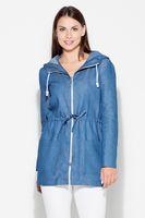 Katrus Damen Jacke Blau