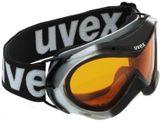 uvex hurricane Kinder-Skibrille - silver black metallic
