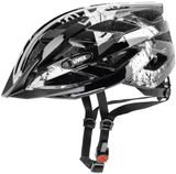 uvex air wing Fahrradhelm - white black