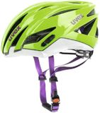 uvex ultrasonic race Rennradhelm - green white