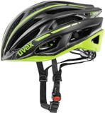 uvex race 5 Rennradhelm - black mat-green