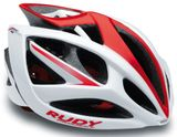 Rudy Project Airstorm Rennradhelm - white-red shiny